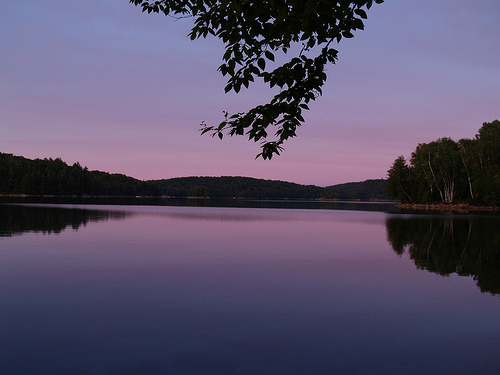 Redstone Lake at Dusk