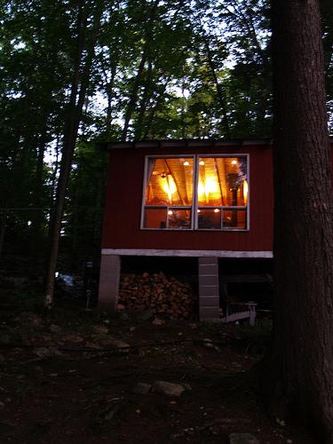 Glowing Cabin