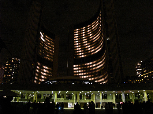 Nuit Blanche 2008 - City Hall
