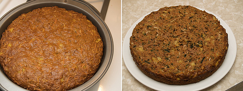 My version of Dufflet's carrot cake