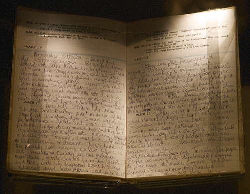 Jimi Hendrix's Diary