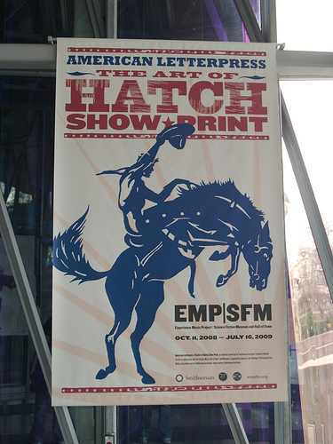 Hatch Show Print at EMP