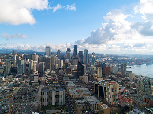 View from the Space Needle