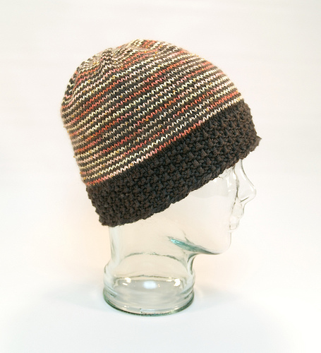 Silky Beady Spiraly Hat