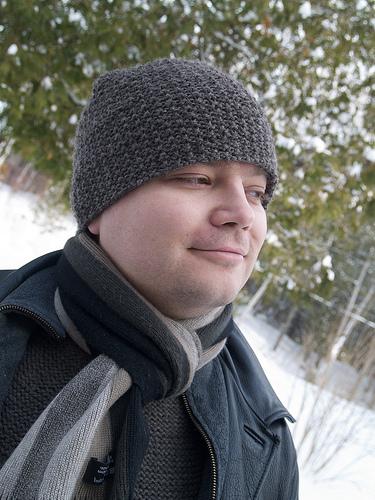 Chris's textured hat