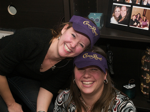 Sexy Crown Royal visors