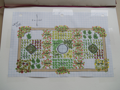 Revised planting plan