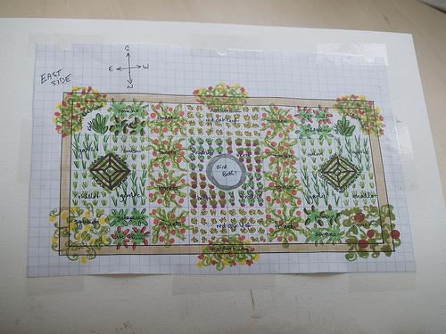 Revised planting plan
