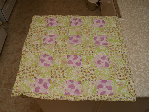First-ever [Baby] Quilt