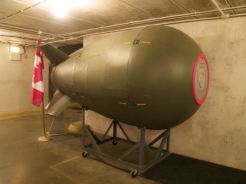 Diefenbunker atom bomb
