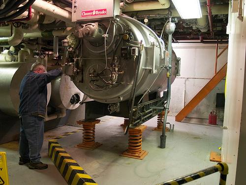 Diefenbunker - boiler