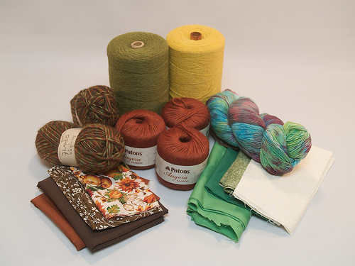New yarn, and fabric