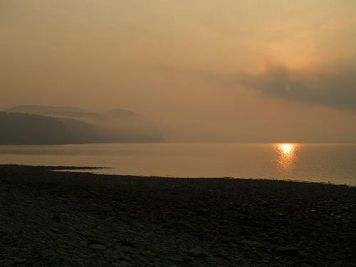 Bay of Fundy, at dawn