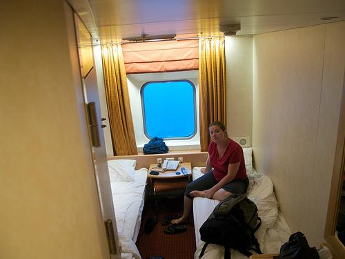 Newfoundland ferry cabin