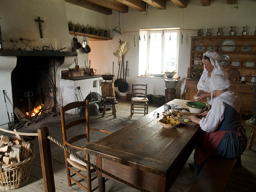 Fortress of Louisbourg, Governor's kitchen
