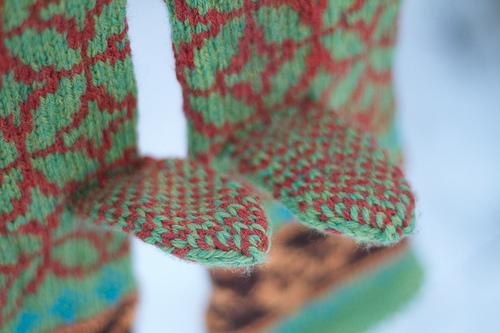 Tiffany mittens