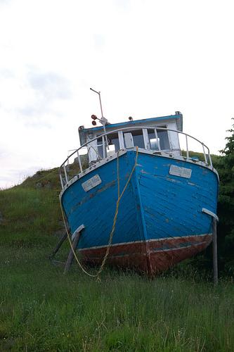 Old ship in Trinity