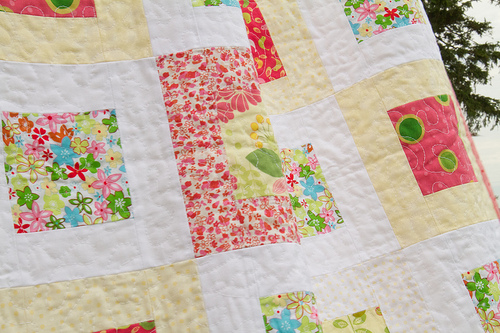 First baby quilt - finished!