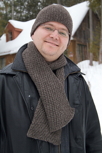 Extra Warm Men's Scarf