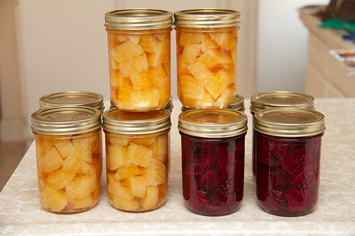 Pickled Detroit Goldens and Detroit Reds
