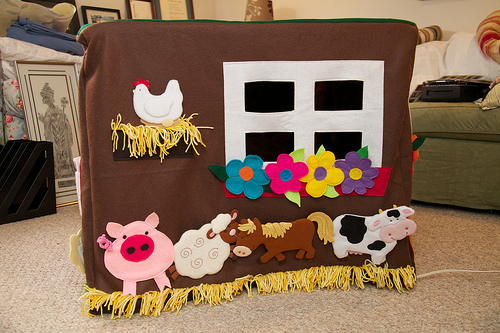 Farm Playhouse for the Kids