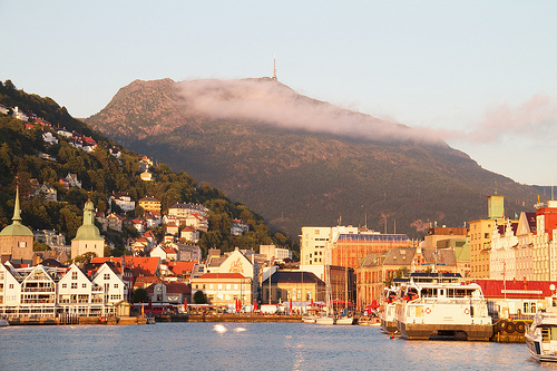 One of the seven mountains that surround Bergen
