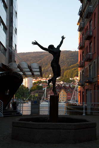 Bergen sculpture