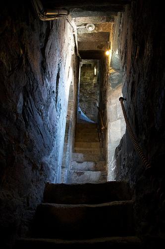 Inside Rosenkrantztårnet