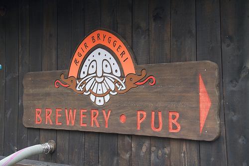 Ægir Brewery in Flåm