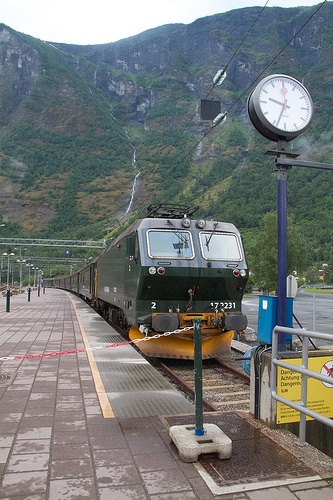 The Flåmsbana (Flåm Railway)