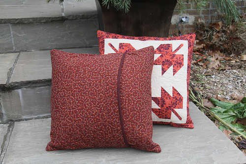 Maple Leaf Pillows