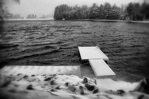 Stormy Winter Morning