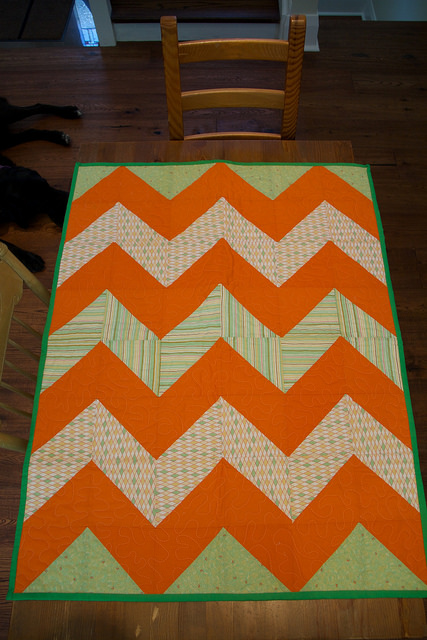 Quilt for baby Cohen-Wylie