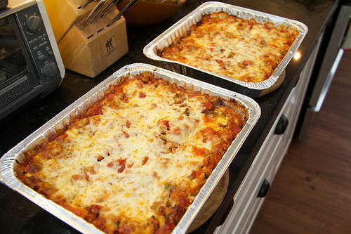 Lasagnes for the Freezer
