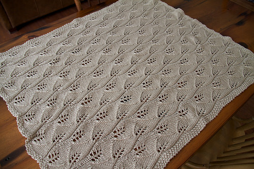Leafy Baby Blanket