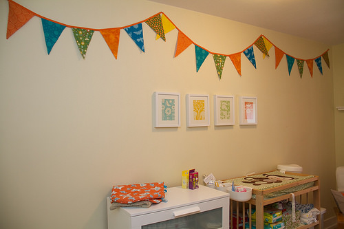 Baby's Room - Bunting